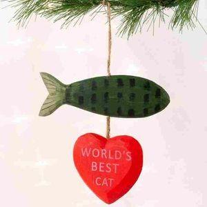 Paper Destiny Worlds Best Cat Ornament